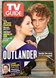 Caitriona Balfe Sam Heughan OUTLANDER TV GUIDE APRIL 2016 NEW NO LABEL