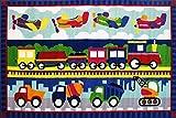 Fun Rugs Trans America Area Rug, 39 x 58