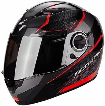 Amazon.es: Scorpion Casco Moto exo-490 Vision, Black/Neon Red, L
