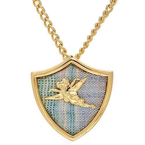 Disney Couture XOXO Tinkerbell Shield Necklace - Accessories Disney Couture