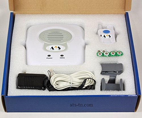 Medical Alert System for Home Emergency- NO MONTHLY FEES - WATER RESISTANT Wireless 2 Way Voice Pendent Help Button - Option AUTO 911 Call - Seniors Response Alarm Life Monitor