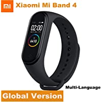 "Xiaomi Mi Band 4,Smart Miband 4 0.95"" AMOLED Screen,Waterproof Heart Rate Fitness 135mAh Bluetooth 5.0 (color screen)-international version"