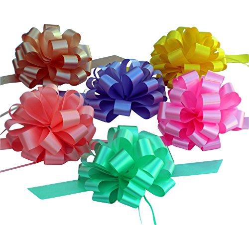 Lavender Rose Gift Basket - Easter Basket Ribbons - 8