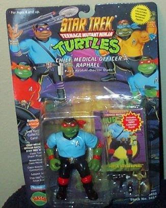Star Trek Teenage Mutant Ninja Turtles Chief Medical Officer Raphael Action Figure