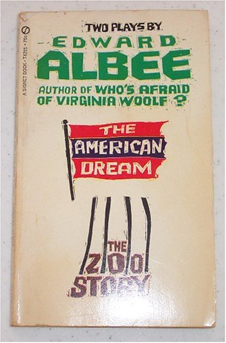 American Zoos (Two Plays By Edward Albee: The American Dream and The Zoo Story)