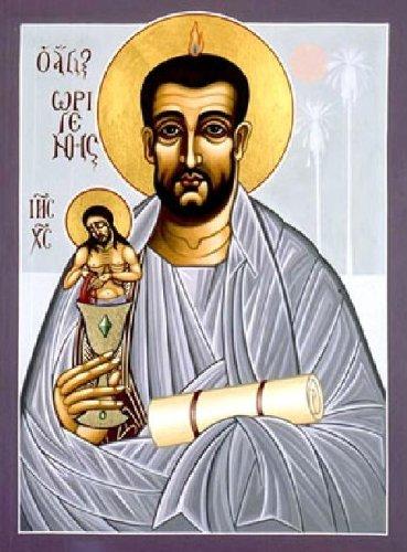 Icon of a Saint Philocalia of Origen.