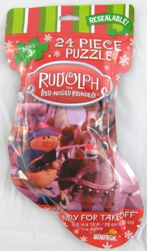 - Rudolph the Red-Nosed Reindeer Ready for Takeoff 24 Piece Jigsaw Puzzle by Briarpatch