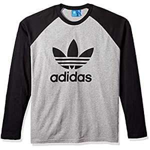 adidas Originals Men's Long Sleeve Trefoil Tee