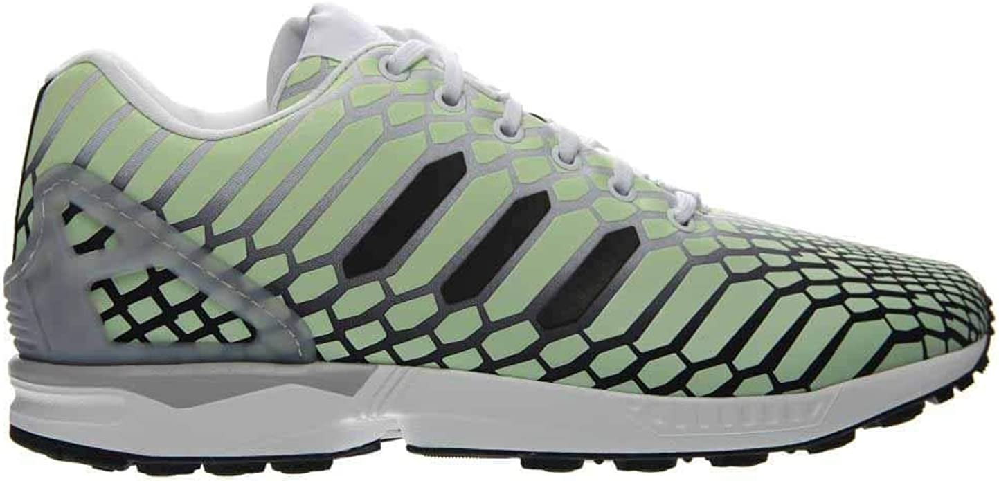 adidas Mens Zx Flux Running Sneakers Shoes - Green