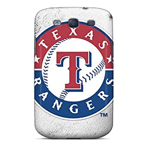 Flexible Tpu Back Case Cover For Galaxy S3 - Texas Rangers