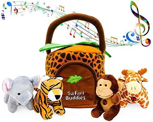 KLEEGER Plush Talking Jungle Animals product image