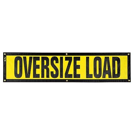 Wide Load Sign >> Oversize Warning Products Grommet Escort Oversize Load Sign