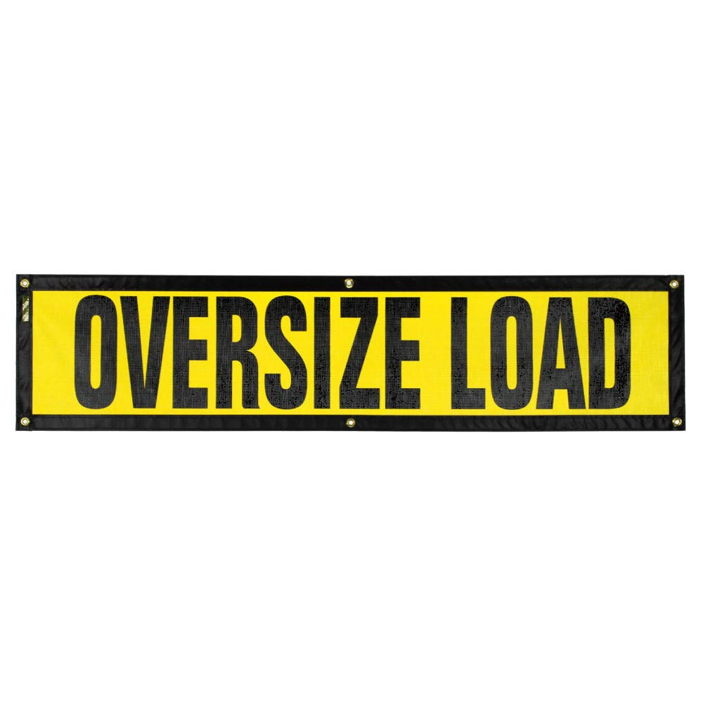 Oversize Warning Products - Grommet Escort Oversize Load Sign