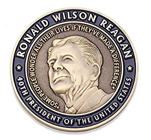 Marine Corps Challenge Coin - USMC Ronald Reagan U.S. Marine Quote Military Coin - Designed by Marines for Marines - Officially Licensed Product by Coins For Anything Inc