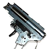 Airsoft Shooting Gear APS Silver Edge Extreme 8mm German Bearing AEG V2 Gearbox Version 2 Rear Line