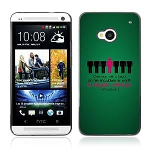 YOYOSHOP [Funny Deep Message ] HTC One M7 Case