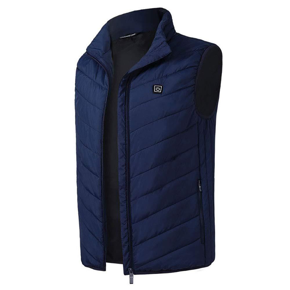 Rosepoem Charging-Heizweste - Mantel aus männlicher Baumwolle