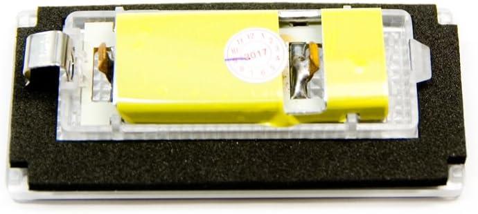 2 x LED Kennzeichen-beleuchtung Nummernschild Leuchte Xenon Licht