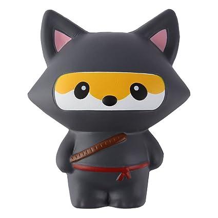 Amazon.com: Joykith Jumbo Ninja Cartoon Cat Stress Reliever ...