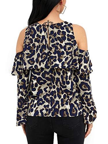Mujer Jerséi 02 Leopard Yoins Para qBnYnE