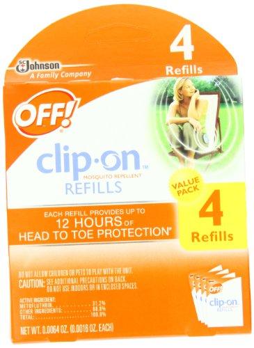Off! ClipOn Refills 4