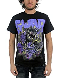 Authentic GWAR Band Destroyers Purple T-Shirt XL NEW