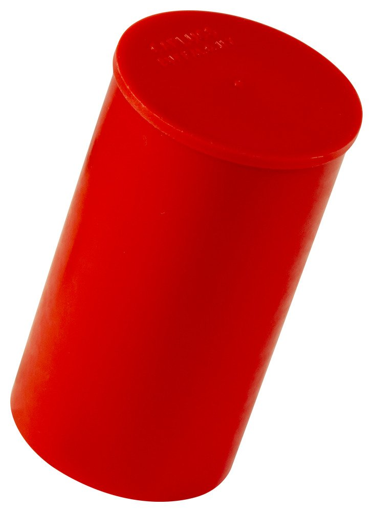 to Cap Thread Size 1 1//16 Cap ID 1.049 Length 1.89 PE-LD Caplugs 99394922 Plastic Long-Threaded Connector Cap RCL-12 Red Pack of 40