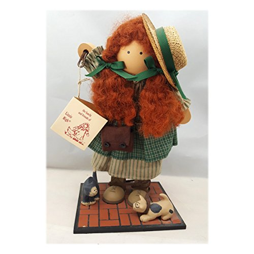 lizzie-high Vintage 1993 Ladie & Friends Audrey High Crafted Wood Doll (Wood Doll Vintage)