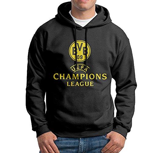SuperFF Men's Borussia Dortmund GmbH & Co. KGaA Hooded Sweatshirt