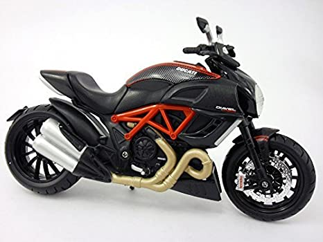 Amazon Com Ducati Diavel Carbon Bike 1 12 Motorcycle Model By