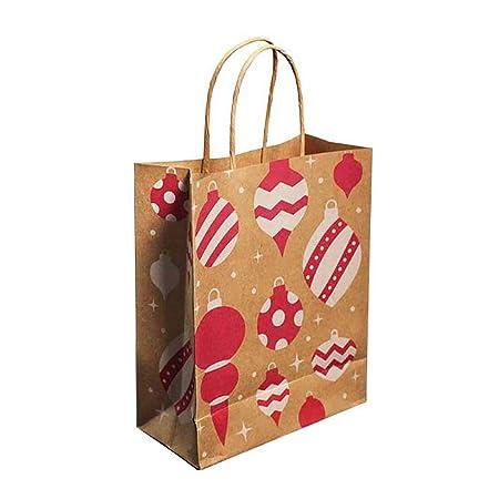 Lovejoy Store 10 Bolsas de Papel Kraft para Regalo, Bolsas ...