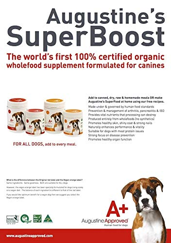 Augustine Approved Superboost Original Whole Food Supplement for Dogs Cats and Pets (220g) 3