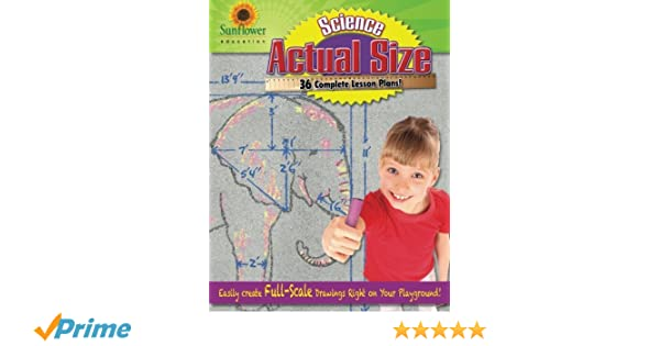Amazon.com: Actual Size—Science: Easily Create Full-Scale Drawings ...