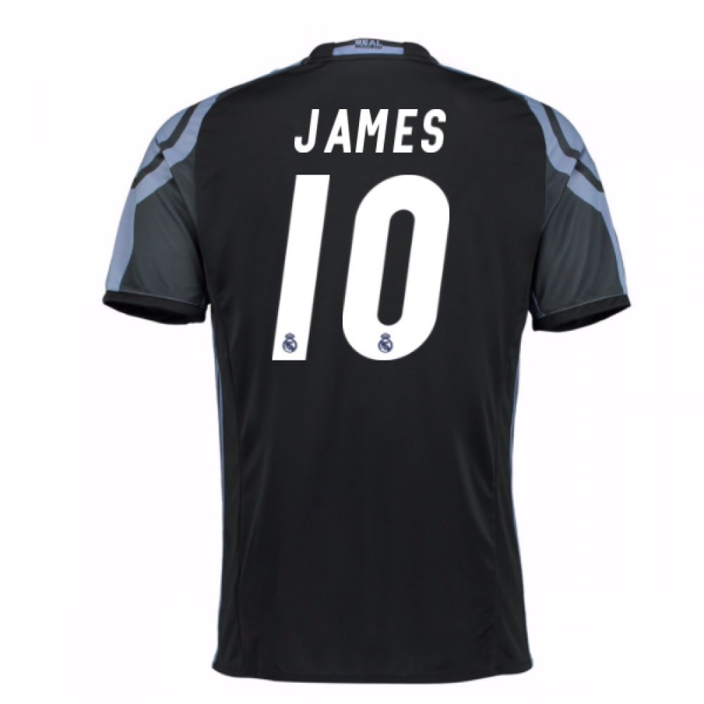 2016-17 Real Madrid 3rd Football Soccer T-Shirt Trikot (James Rodríguez 10)