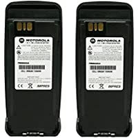 PMNN4066 PMNN4066A 2-PACK Original Motorola Submersible IP57 IMPRES Slim Battery Li-Ion 7.4V, 1700mAh - Compatible with MOTOTRBO XPR6100 XPR6300 XPR6350 XPR6500 XPR6550 XPR6380 XPR6580