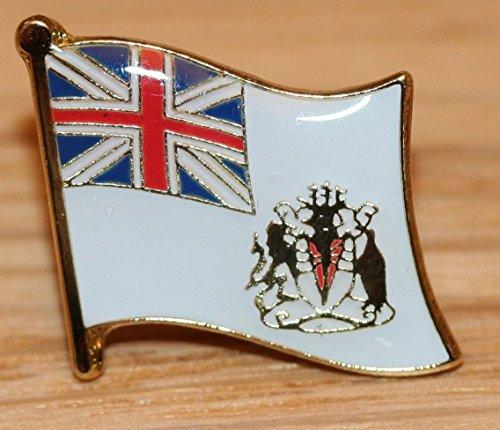 British Antarctic Territory Flag Overseas Territories Metal Badge