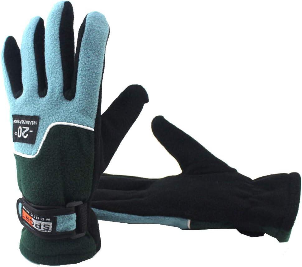 FENSIN 1 Paire Gants Chauds de Ski dhiver pour Femme Gants Coupe-Vent Moto Gants d/équitation en Plein Air Femme