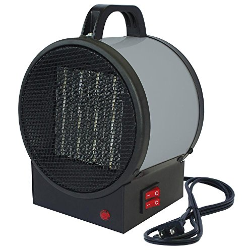 King Electric PUH1215T Portable Personal Ceramic Utility Heater Ceramic Electric Garage, Shop And Utility Heaters Heater King King Electric Personal Portable Utility