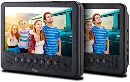 Odys Seal draagbare DVDspeler met extra scherm digitaal TFTdisplay met hoge resolutie 800 x 480 pixels USB SDkaart zwart 7 inch PRO X820024