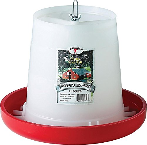 LITTLE GIANT 11 Lbs Plastic Hanging Poultry Feeder PHF11 by LITTLE GIANT