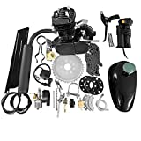 Best Bicycle Engine Kits - 50cc 2-Stroke Motor Engine Kit Black for Motorized Review