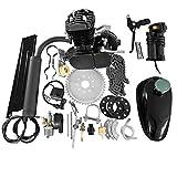50cc 2-Stroke Motor Engine Kit Black for Motorized Bicycle Bike Petrol Gas Engine