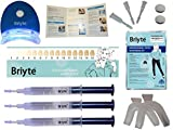 Briyte ® HOME Teeth Whitening Kit (TEETH WHITENING) Pro Teeth Whiten Tooth Whitening Dental Care White 3x GEL Bleaching Kit Briyte Crest UK Express