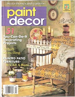 Better Homes and Gardens Paint Decor 1999: various, Amy ... on better homes gardens room additions, seventeen bedroom decorating, real life bedroom decorating, martha stewart bedroom decorating, country home bedroom decorating, better homes and gardens entryway decorating, bedroom colors home and garden decorating,