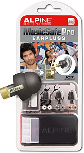 American Music System (Alpine MusicSafe Pro Hearing Protection System for Musicians, Black)