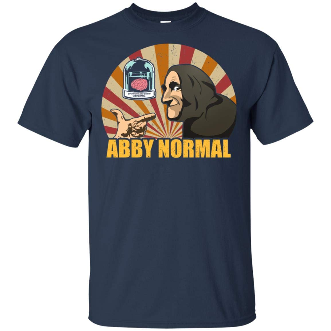 Abby Brain Normal Funny Vintage Movie T Shirt