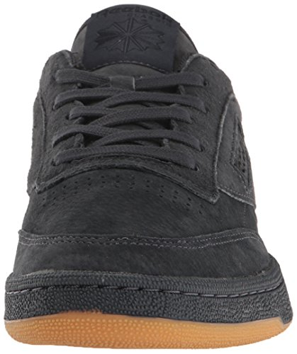 Reebok Mens Club C 85 Tg Fashion Sneaker Lead / Black-gum