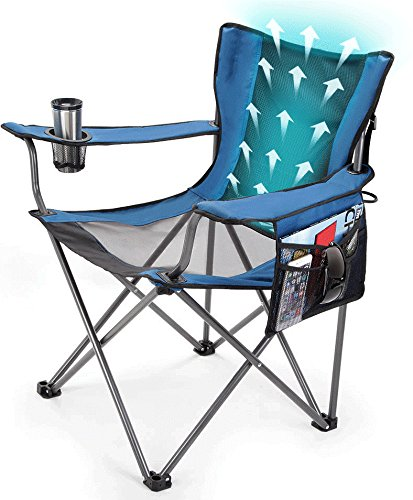 Traveling Breeze Fan Cooled Sports Camping Chair (Events Breeze)