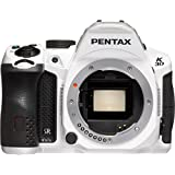 Pentax K-30 Weather-Sealed 16 MP CMOS Digital SLR (White, Body Only) (Discontinued by Manufacturer) (Certified Refurbished)