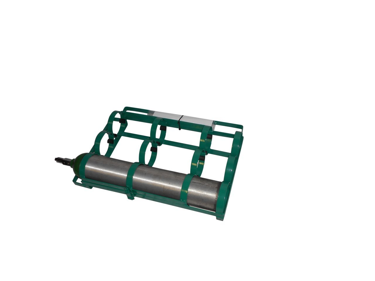 FWF OXYGEN CAR RACK HOLD UP TO 3 (D, E OR C STYLES) CYLINDERS DIAMETER OF 4.3'' MADE IN USA